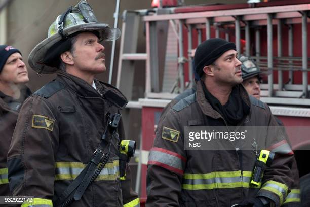 FIRE The One That Matters Most Episode 616 Pictured Gary Cole as Chief Carl Grissom Taylor Kinney as Kelly Severide