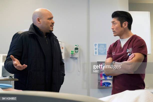 FIRE The One That Matters Most Episode 616 Pictured Joe Minoso as Joe Cruz Brian Tee as Ethan Choi