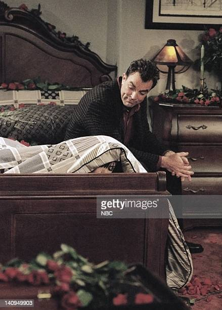 FRIENDS The One Where Monica and Richard Are Just Friends Episode 13 Pictured Tom Selleck as Dr Richard Burke Photo by Chris Haston/NBCU Photo Bank