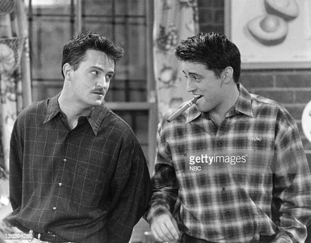 FRIENDS 'The One Where Old Yeller Dies' Episode 20 Air Date Pictured Matthew Perry as Chandler Bing Matt LeBlanc as Joey Tribbiani