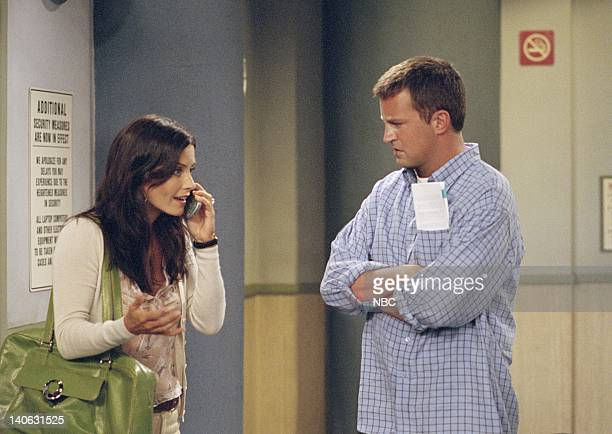 FRIENDS The One Where Rachel Tells Episode 3 Aired Pictured Courteney Cox as Monica GellerBing Matthew Perry as Chandler Bing Photo by NBCU Photo Bank