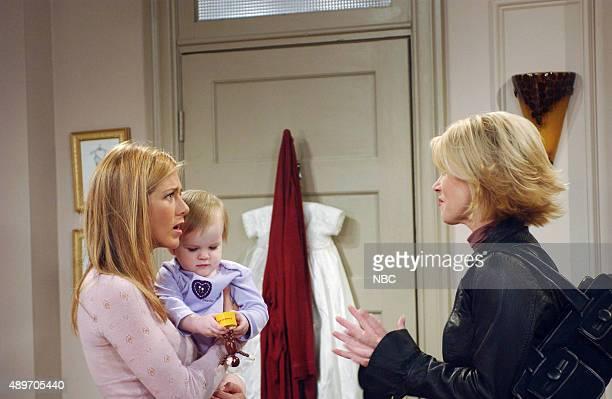 FRIENDS The One Where Rachel's Sister Babysits Episode 5 Aired Pictured Jennifer Aniston as Rachel Green Cali Sheldon/Noelle Sheldon as Emma...