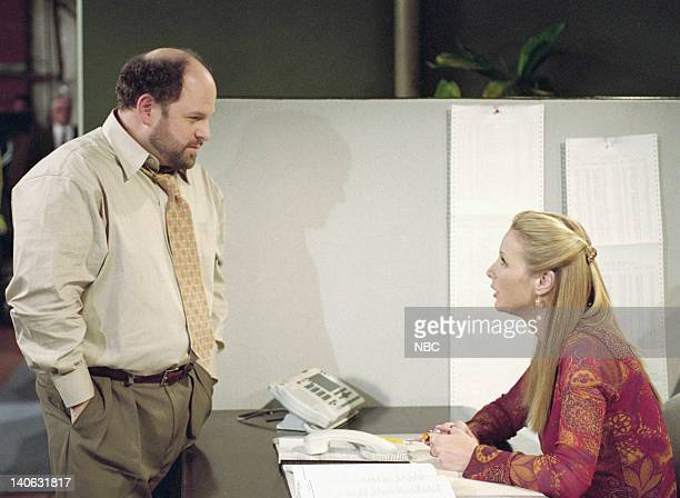 FRIENDS The One Where Rosita Dies Episode 13 Aired 2/1/2001 Pictured Jason Alexander as Earl Lisa Kudrow as Phoebe Buffay Photo by NBCU Photo Bank