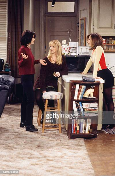 FRIENDS The One Where Ross and Rachel You Know Episode 15 Air Date Pictured Courteney Cox as Monica Geller Lisa Kudrow as Phoebe Buffay Jennifer...