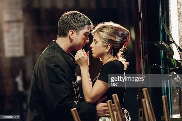 FRIENDS 'The One Where Ross Finds Out' Episode 7 Air Date Pictured David Schwimmer as Ross Geller Jennifer Aniston as Rachel Green