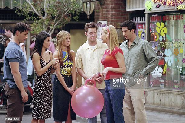 FRIENDS 'The One Where They All Turn 30' Episode 14 Aired 2/8/2001 Pictured Matt LeBlanc as Joey Tribbiani Courteney Cox as Monica Geller Jennifer...