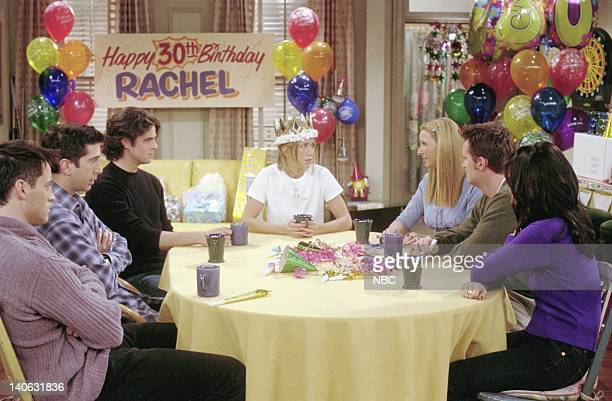 FRIENDS 'The One Where They All Turn 30' Episode 14 Aired 2/8/2001 Pictured Matt LeBlanc as Joey Tribbiani David Schwimmer as Ross Geller Eddie...