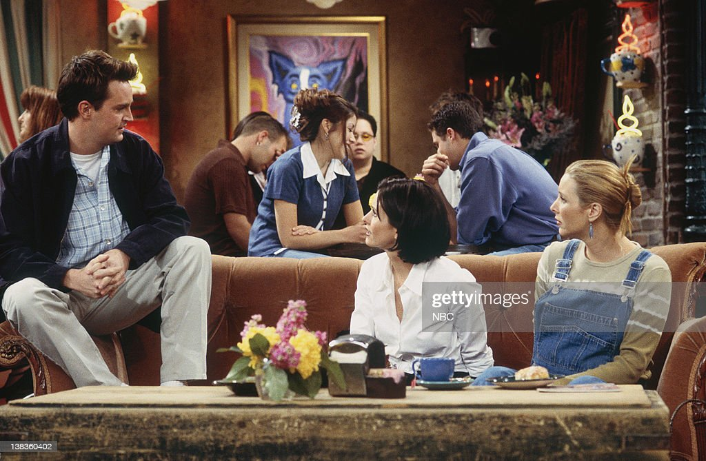 Chandler Bing And Monica Geller Wedding