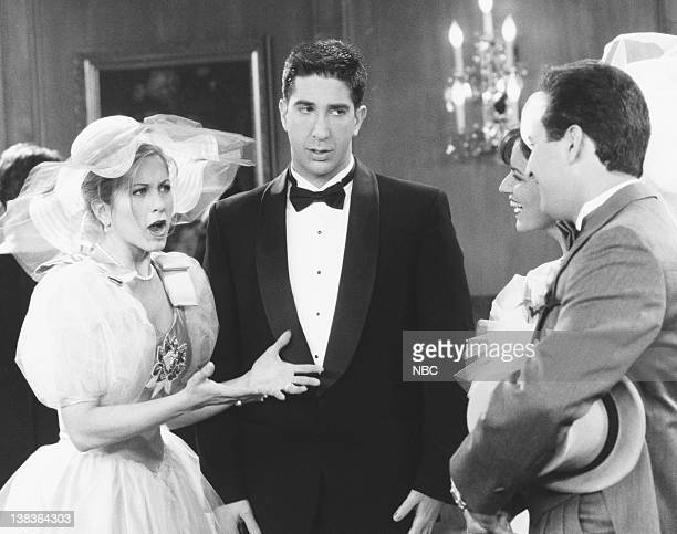 FRIENDS 'The One with Barry and Mindy's Wedding' Episode 24 Air Date Pictured Jennifer Aniston as Rachel Green David Schwimmer as Ross Geller Jana...