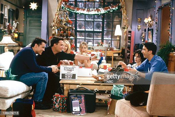 FRIENDS The One with Phoebe's Dad Episode 9 Pictured Matt LeBlanc as Joey Tribbiani Matthew Perry as Chandler Bing Lisa Kudrow as Phoebe Buffay...