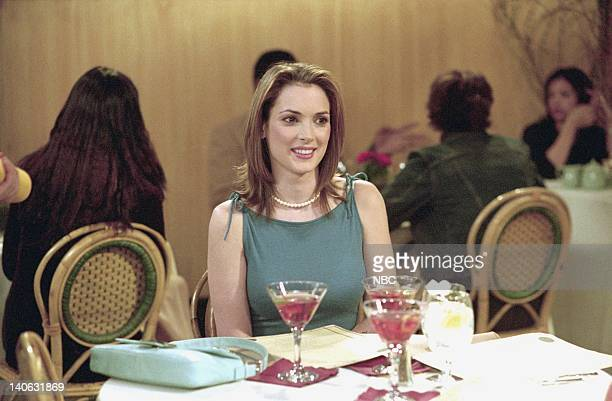 FRIENDS 'The One With Rachelís Big Kiss' Episode 20 Aired 4/26/2001 Pictured Winona Ryder as Melissa Warburton Photo by NBCU Photo Bank