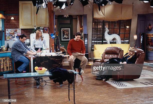 FRIENDS 'The One with Rachel's Crush' Episode 13 Pictured Matt LeBlanc as Joey Tribbiani Jennifer Aniston as Rachel Green David Schwimmer as Ross...