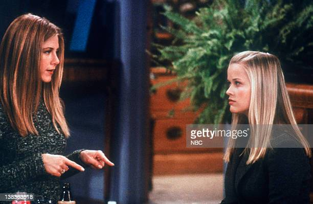 FRIENDS 'The One with Rachel's Sister' Episode 13 Air Date Pictured Jennifer Aniston as Rachel Green Reese Witherspoon as Jill Green