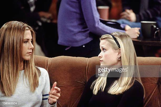 FRIENDS The One with Rachel's Sister Episode 13 Air Date Pictured Jennifer Aniston as Rachel Green Reese Witherspoon as Jill Green