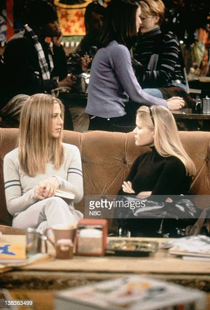 FRIENDS 'The One with Rachel's Sister' Episode 13 Pictured Jennifer Aniston as Rachel Green Reese Witherspoon as Jill Greene