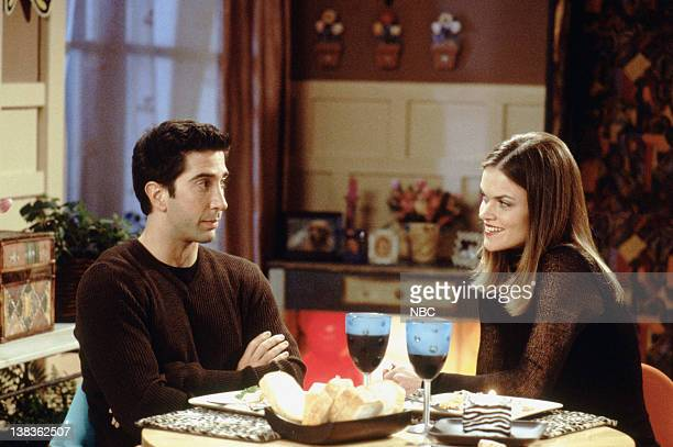 """The One with Ross' Teeth"""" Episode 8 -- Air Date -- Pictured: David Schwimmer as Dr. Ross Geller, Missi Pyle as Hillary"""