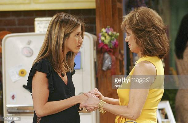 FRIENDS The One With The Baby Shower Episode 20 Aired 4/25/2002 Pictured Jennifer Aniston as Rachel Green Marlo Thomas as Sandra Green Courteney Cox...