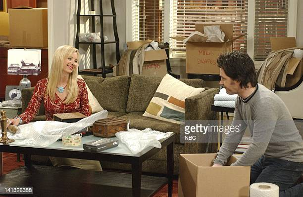 FRIENDS 'The One With The Boob Job' Epsiode 16 Aired 2/20/2003 Pictured Lisa Kudrow as Phoebe Buffay Paul Rudd as Mike Hannigan Photo by NBCU Photo...