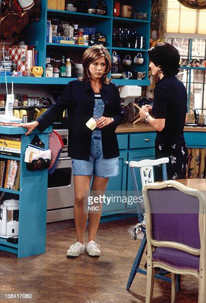 FRIENDS The One With the Breast Milk Episode 2 Pictured Jennifer Aniston as Rachel Green Courteney Cox as Monica Geller