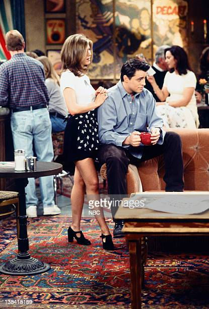 FRIENDS The One with the Chicken Pox Episode 23 Air Date Pictured Jennifer Aniston as Rachel Green Matt LeBlanc as Joey Tribbiani
