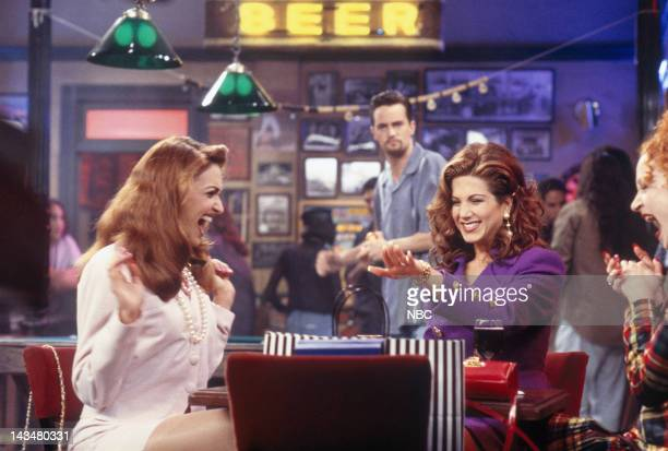 FRIENDS The One with the Flashback Episode 6 Pictured Michele Maika as Kiki Jennifer Aniston as Rachel Green Marissa Ribisi as Betsy