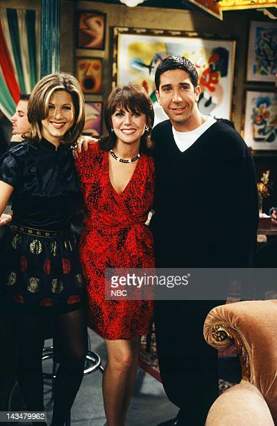 FRIENDS The One with the Lesbian Wedding Episode 11 Air Date Pictured Jennifer Aniston Marlo Thomas as Sandra Green David Schwimmer as Ross Geller