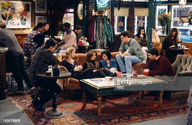 FRIENDS 'The One with the Lesbian Wedding' Episode 11 Air Date Pictured Matt LeBlanc as Joey Tribbiani Lisa Kudrow as Phoebe Buffay Jennifer Aniston...