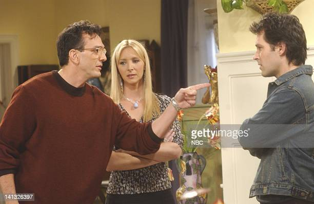 FRIENDS 'The One With The Male Nanny' Episode 6 Aired 11/7/2002 Pictured Hank Azaria as David Lisa Kudrow as Phoebe Buffay Paul Rudd as Mike Hannigan...