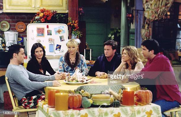 FRIENDS The One With The Rumor Episode 9 Aired Pictured Matt LeBlanc as Joey Tribbiani Courteney Cox as Monica GellerBing Lisa Kudrow as Phoebe...