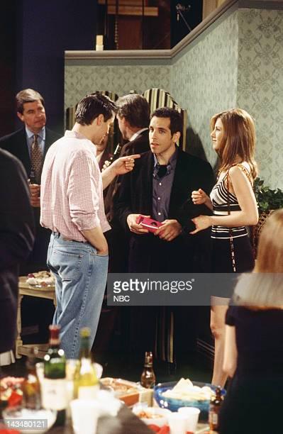 FRIENDS The One with the Screamer Episode 22 Air Date Pictured Matt LeBlanc as Joey Tribbiani Ben Stiller as Tommy Jennifer Aniston as Rachel Green