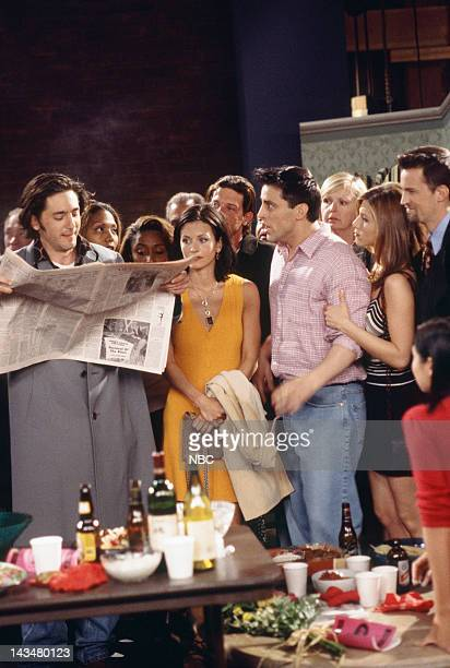 FRIENDS The One with the Screamer Episode 22 Air Date Pictured Reg Rogers as The Director Courteney Cox as Monica Geller Matt LeBlanc as Joey...