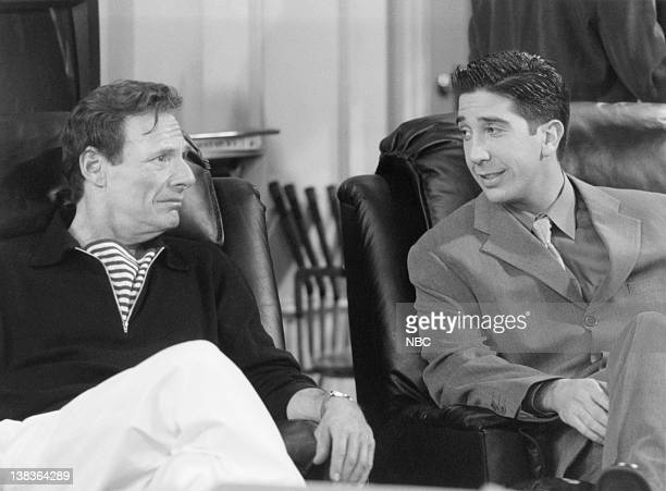 FRIENDS The One with the Two Parties Episode 22 Air Date Pictured Ron Leibman as Dr Leonard Green David Schwimmer as Ross Geller