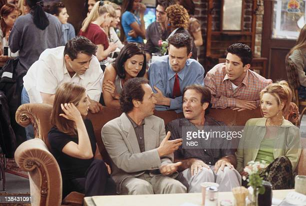 FRIENDS The One with the Ultimate Fighting Champion Episode 24 Pictured Jennifer Aniston as Rachel Green Billy Crystal as Tim Robin Williams as...