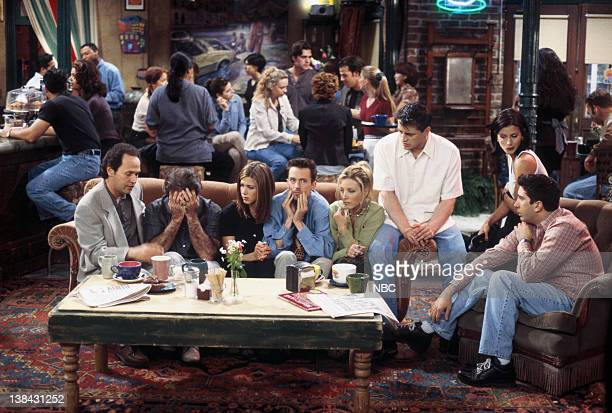 FRIENDS The One with the Ultimate Fighting Champion Episode 24 Pictured Billy Crystal as Tim Robin Williams as Thomas Jennifer Aniston as Rachel...