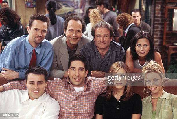 FRIENDS The One with the Ultimate Fighting Champion Episode 24 Pictured Matt LeBlanc as Joey Tribbiani David Schwimmer as Ross Geller Jennifer...