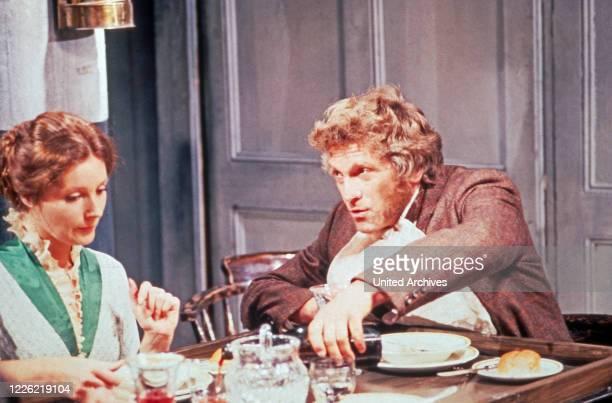 Die OnedinLinie Fernsehserie Großbritannien 1971 1980 Darsteller Catherine Schell Peter Gilmore