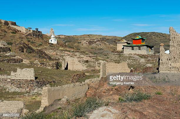 The Ongiin Khiid was one of the largest monasteries in Mongolia; it was founded in 1660 and consisted of two temples complexes on the North and South...