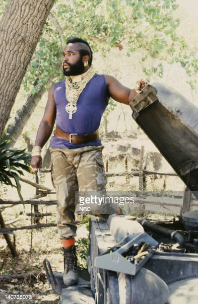 TEAM The Only Church in Town Episode 3 Pictured Mr T as BA Baracus Photo by NBCU Photo Bank
