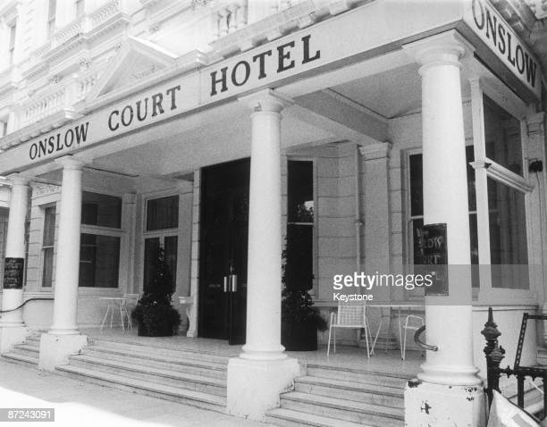 The Onslow Court Hotel in Kensington London September 1985 In the later 1940s it was home to John George Haigh aka The Acid Bath Murderer who was...