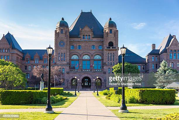 The Ontario Legislative Building at Queen's Park in Toronto It houses the viceregal suite of the Lieutenant Governor of Ontario the Legislative...