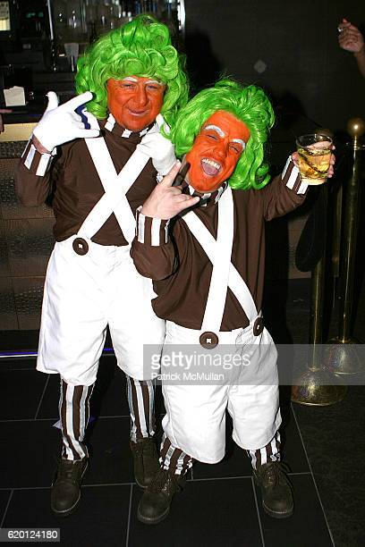 The Oompa Loompas attends Joseph Abboud Private Event at Magic The Business of Fashion at The Bank on February 12 2008