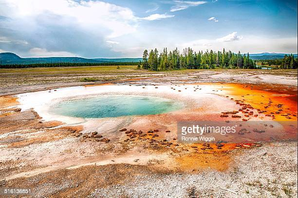 The Opal Pool at Yellowstone