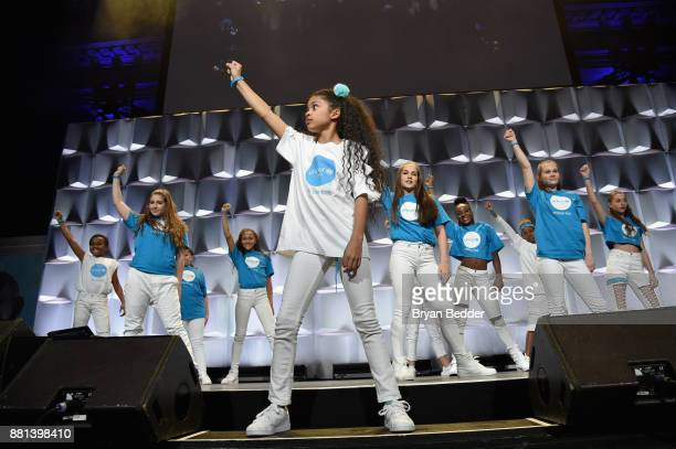 The opening act performs onstage during the 13th Annual UNICEF Snowflake Ball 2017 at Cipriani Wall Street on November 28 2017 in New York City