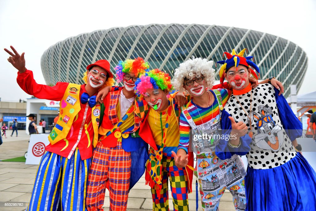 The opening ceremony of 2017 WTA Wuhan Open is held at Optics Valley International Tennis Center on September 24, 2017 in Wuhan, China.