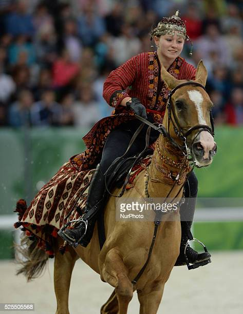 The Opening Ceremony of the ALLTECH FEI WORLD EQUESTRIAN GAMES 2014 at Stade Malherbe in Caen Normandy France 23 August 2014 Credit Photo Artur Widak