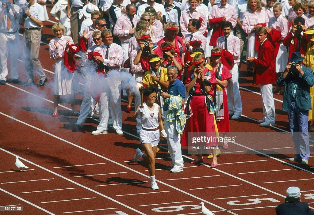 Opening The Olympics : ニュース写真