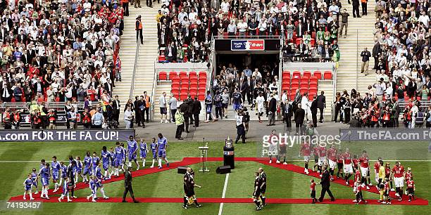 The Opening ceremony prior the FA Cup Final match sponsored by EON between Manchester United and Chelsea at Wembley Stadium on May 19 2007 in London...