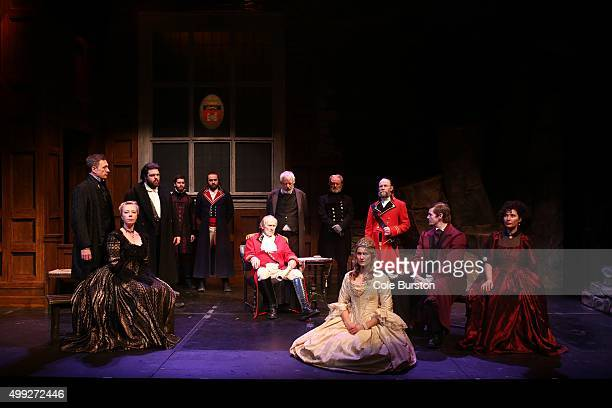 TORONTO ON NOVEMBER 25 The opening court scene of Director Rod Carley's 1837 Upper Canada style King Lear shot at Theatre Passe Muraille on November...