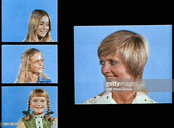The opening of THE BRADY BUNCH episode Hawaii Bound Original air date September 22 1972 Pictured clockwise from top left Maureen McCormick as Marcia...