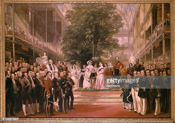 The Opening of the Great Exhibition in Hyde Park May 1 1851 1851